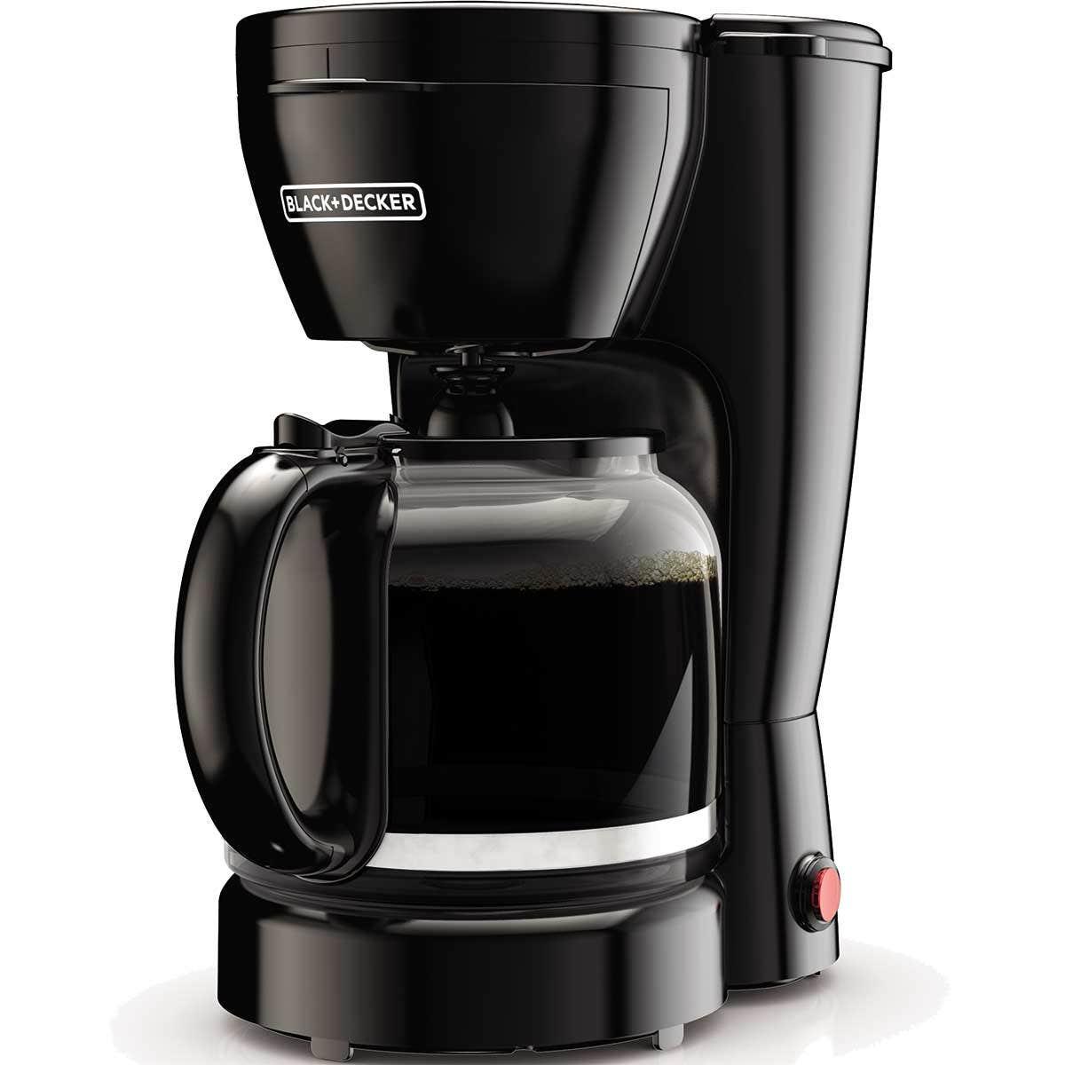 Cafetera Black & Decker 12 tazas CM0910BKD